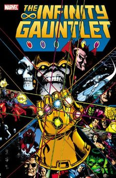 If you could only read one Marvel graphic novel, Infinity Gauntlet is definitely the right choice. Written by Jim Starlin, it puts Thanos front and center as a major villain in the Marvel Universe. Ha
