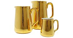 Vintage Royal Worcester Gold Pitchers