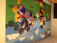 Mickey Mouse Clubhouse - Huge wall mural - see our range at www.pricerighthome.com