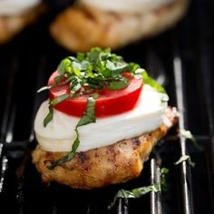 Caprese Grilled Chicken - simple yet amazing. A must try this summer.