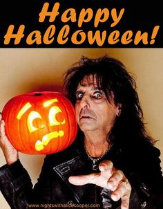 alice cooper fall halloween happy halloween playing guitar my music
