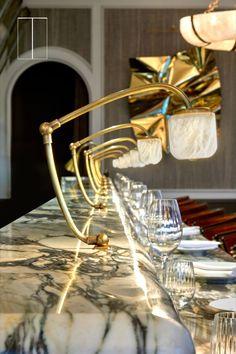 Coffee Shop, Alcoholic Drinks, Glow, Restaurant Interiors, Table Decorations, Bar, Interior Design, Lighting, Counter