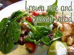 Brown Rice & Quinoa Salad
