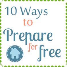 Wanna get prepared but don't think you can afford it? Try one of these ideas for now!