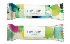 Packaging design for a health food bar
