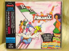 CD/Japan- FUNKADELIC One Nation Under A Groove +1 w/OBI RARE - PARLIAMENT P FUNK #Funk