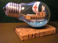 reciclado de bombillas tradicionales