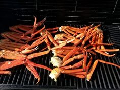 Grilled Crab Legs Recipe - Allthecooks.com