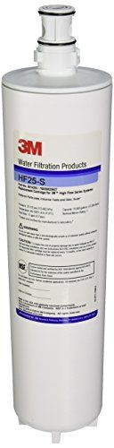 HF25-S Aqua-Pure Commercial Cartridge >  3M HF25-S is a replacement cartridge for the ICE 125-S water filter system. 3M HF25-S reduces the taste & odor of chlorine, sediment, and scaling with the help of a propriety inhibitor. 3M H...