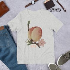 By Tree T-Shirt from Tee Tree , a custom product made just for you by Teespring. - Love peaches in all forms and sizes?