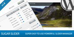 Sugar Slider - Premium WordPress Slider Manager