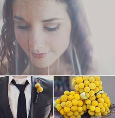 love the billy ball bouquets!