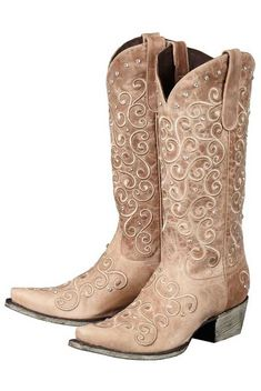 Lane Boots Jeni Lace Tan Women's Cowgirl Boots (LB0168C) | Clothes ...