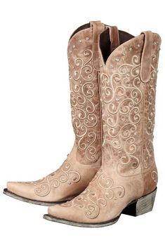 Lane Boots Jeni Lace Tan Women's Cowgirl Boots (LB0168C) | Clothes ...