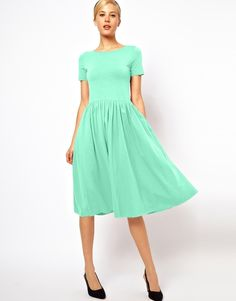 asos-midi-skater-dress-with-short-sleeves-original-60606.jpg (705×900)