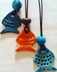 Polymer Clay Fish on Pinterest | Polymer Clay, Fish and Koi