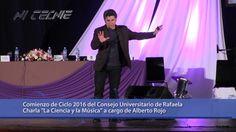 Alberto Rojo CUR 2016 College Tips, Small Talk, Science, Musica