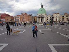 Venezia: santa lucia train station back piazzale