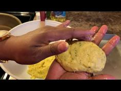 How to make Hot water corn Bread - YouTube