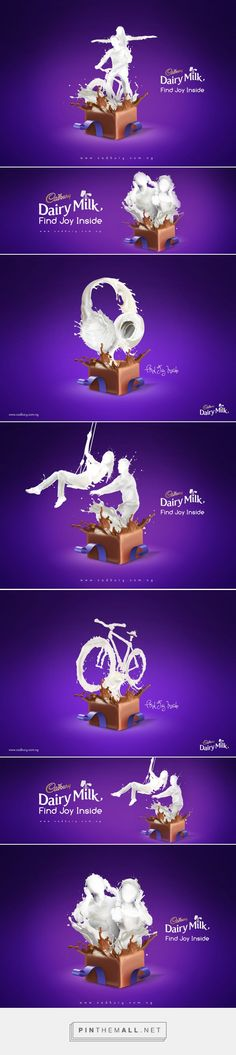 MILK AND CHOCOLATE: A Cadbury ad proposal by Ernicio Omaggi | BrandNG - created via http://pinthemall.net