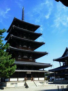 日本の世界遺産 法隆寺地域の仏教建造物 1993年12月 文化遺産登録 奈良県
