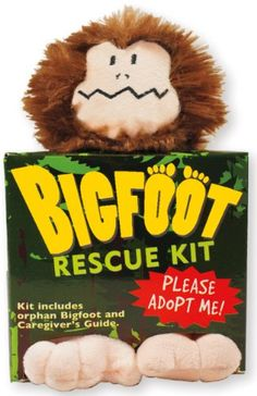 Bigfoot Rescue Kit (Plush Toy and Book) by By Footloose-Lautrec and Toedelaire,http://www.amazon.com/dp/144131010X/ref=cm_sw_r_pi_dp_djkltb1RN2MYCM2G
