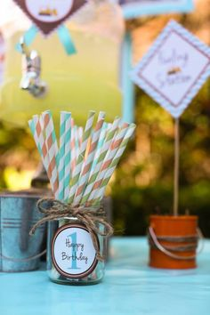 1st Birthday – Boy - Kara's Party Ideas
