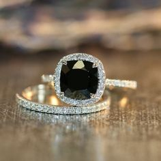 black wedding rings best photos - wedding rings  - cuteweddingideas.com