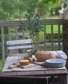 I love the faux olive tree and the French cutlery. Thank you @birchlane for helping me set a gorgeous table. #entertainwithbirchlane