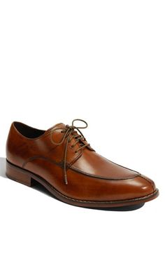 Nice men's oxford shoe for wedding with grey suit - Cole Haan 'Air Colton Split' Oxford | Nordstrom