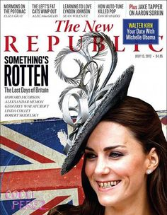Dear world, please stop it with the weird Kate Middleton magazine covers. Kate Middleton with yellowed teeth on the cover of The New Republic