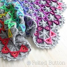 Crochet Pattern, Prism Blanket, Afghan, Throw, Baby