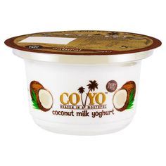 I'm hooked. I only eat the plain, not the fruit flavors. CO YO Dairy Free Coconut Milk Yoghurt Natural