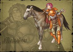 Fire Emblem 9 Path of Radiance  Makalov