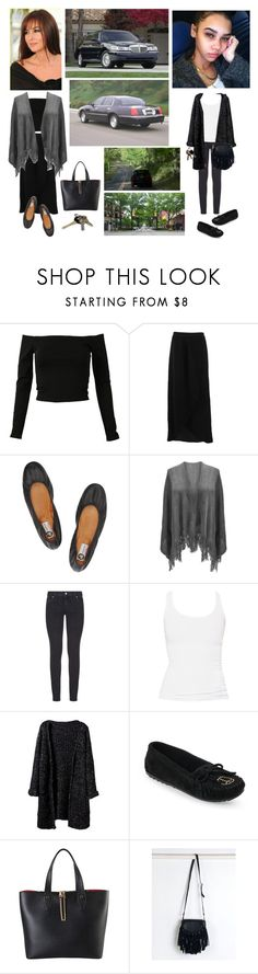 """Mother-Daughter Springtime Drive Rift (Reconciliation at Intersection???)"" by chrisiggy ❤ liked on Polyvore featuring FRACOMINA, Lanvin, Paige Denim, Zara, Minnetonka, Diophy, Avon and Episode"