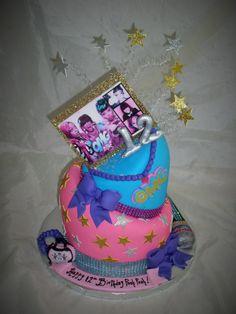 OMG Girlz cake  www.creativecakesbykeekee.com