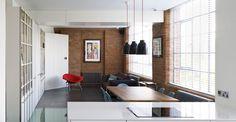 Canyon House di Coffey Architects - Living