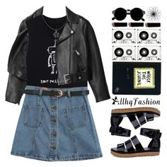 allhqfashion (9) by tmizzle on Polyvore featuring Acne Studios, Chicnova Fashion, Urban Outfitters and GAS Jeans