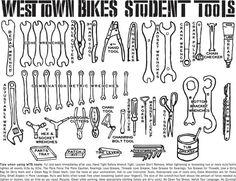 """""""Student tools"""". . .  #biketoolboard #toolboards"""