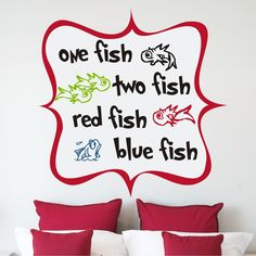 This would be sooo adorable in his Dr. Seuss bedroom