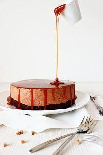Zoet & Verleidelijk: Chocolade karamel zeezout cheesecake