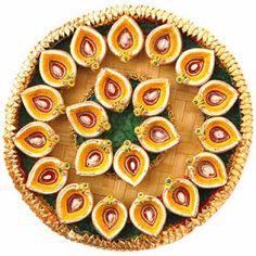 Diwali thali (pooja plate) decoration ideas