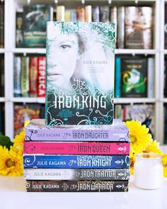 Happy Sunday Bookworms!! And Happy Easter to all those celebrating today!! ---  Story with Fairies. #aprilbookstagram - I know I have more books with fairies in them but the Iron Fey series by Julie Kagawa was the first series that came to mind. I love these books!! --- How are you spending your Sunday Bookworms?? We did our Easter thing early this morning so I plan to spend the rest of the day reading and blogging. Hopefully.  --- #bookphotochallenge #juliekagawa #bookstack #bookstagram…
