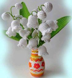 Patrón #1303: Flores a Crochet | CTejidas [Crochet y Dos Agujas]