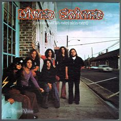"""""""pronounced 'Lĕh-'nérd 'Skin-'nérd"""" is the #debut album from #Lynyrd #Skynyrd and features several of the band's most well-known songs, including """"Gimme Three Steps"""", """"Tuesday's Gone"""" and #FreeBird. The album cover photograph was taken on Main Street in Jonesboro, Georgia, only a few feet away from what would be the film scene where Burt Reynolds and Jerry Reed loaded the Coors beer onto the tractor trailer in the film """"Smokey and the Bandit."""" #LynyrdSkynyrd #Vinyl #LP"""