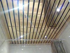 Metal Ceiling Designs For Modern Bathroom And Kitchen Interiors