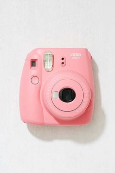 Fujifilm Instax Mini 9 Instant Camera - Instax Camera - ideas of Instax Camera. Trending Instax Camera for sales. Polaroid Instax, Instax Mini Camera, Fujifilm Instax Mini 8, Pink Polaroid Camera, Cute Camera, Film Polaroid, Vintage Polaroid, Photo Kawaii, Camara Fujifilm