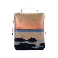 Dusk on the Sea Square Backpack (Model1618)