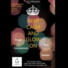 Come out Friday September 30th to the first SGA event of the year! #studentlife #studentgovernment #collegelife #fun #food #games