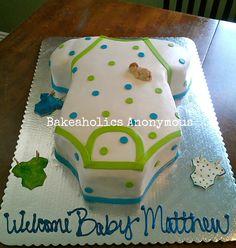 10 Most Inspiring baby shower cakes Ideas Torta Baby Shower, Deco Baby Shower, Baby Shower Cookies, Baby Boy Shower, Baby Shower Gifts, Baby Bump Cakes, Baby Shower Cakes For Boys, Cake Baby, Onesie Cake